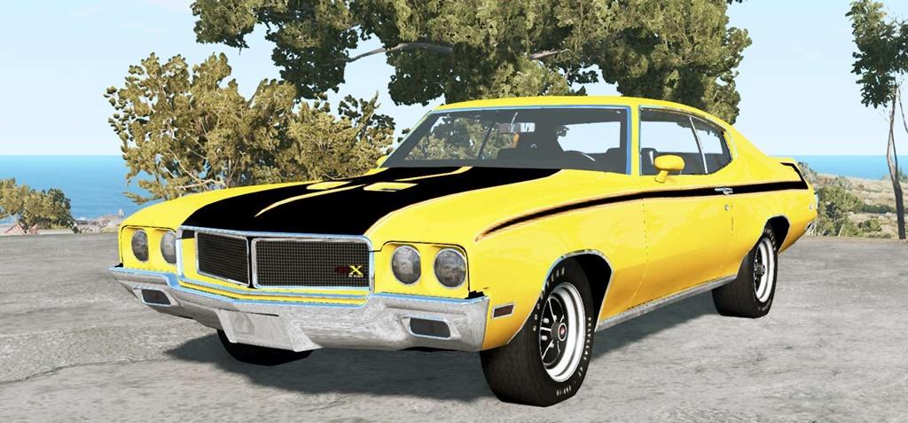 BeamNG - Buick GSX 1970 Car Mod