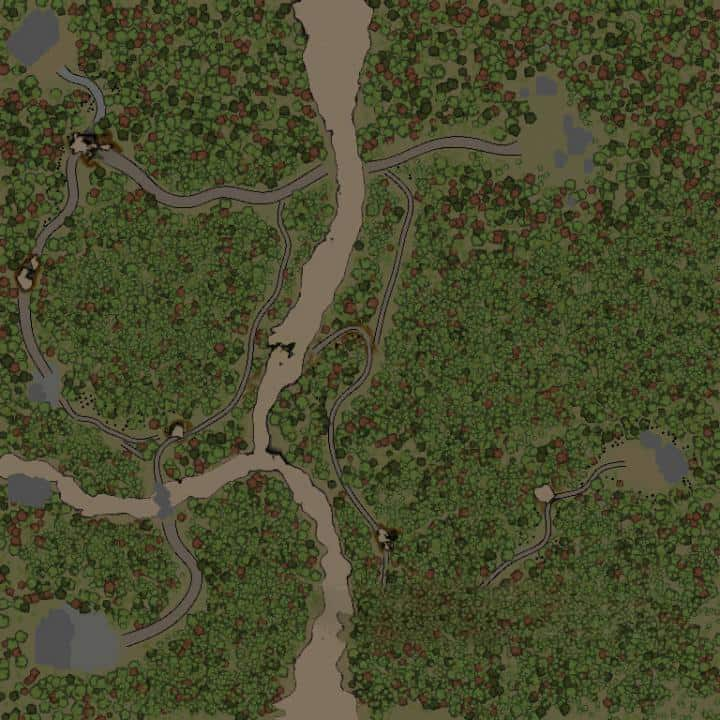 Spintires - On the Outskirts Map V1.0
