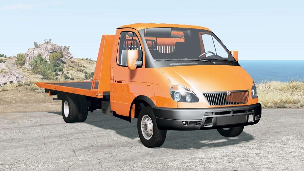 BeamNG - Gaz 330202 Gazelle Truck