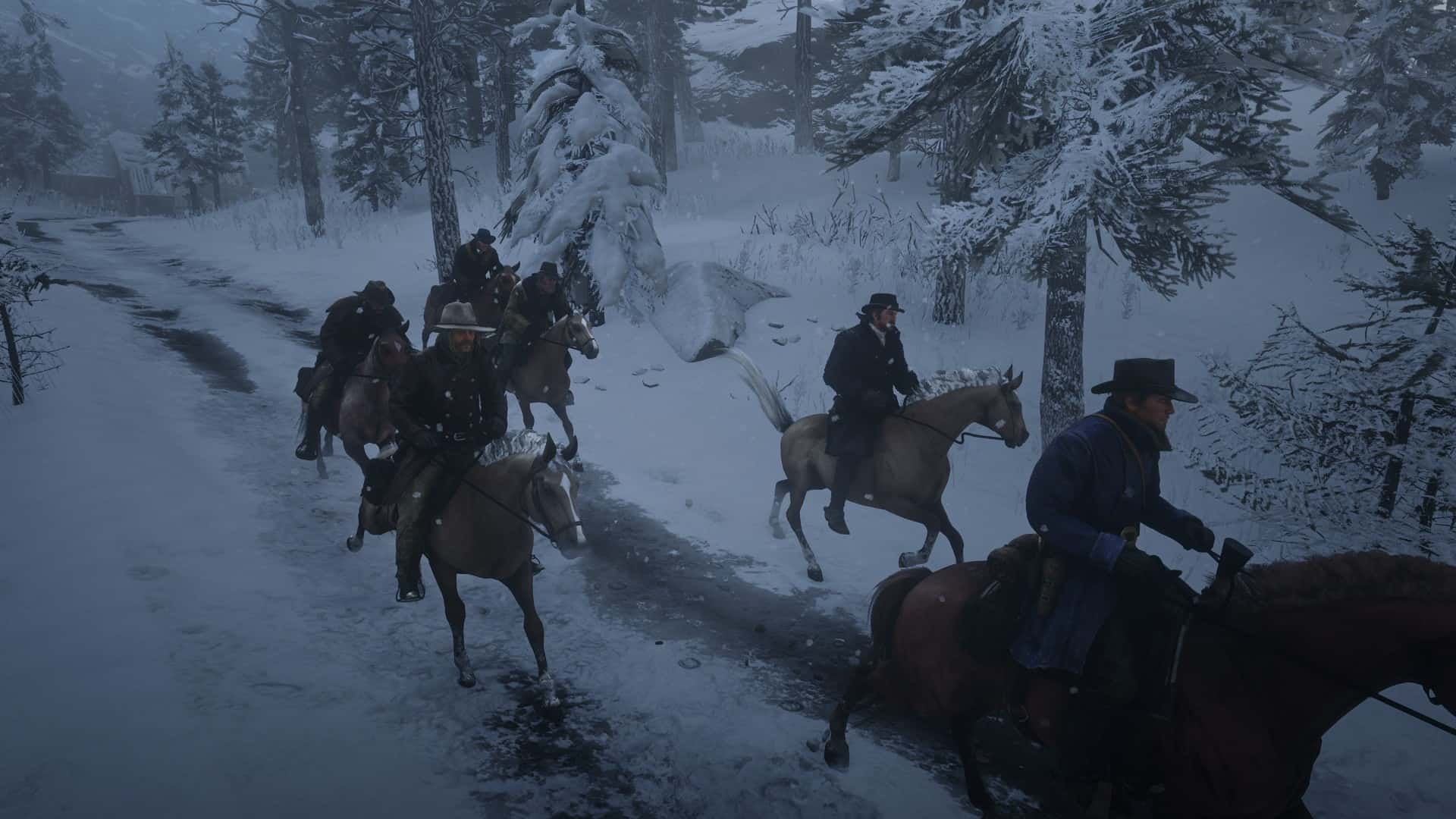 RDR2 - Ride with Gang