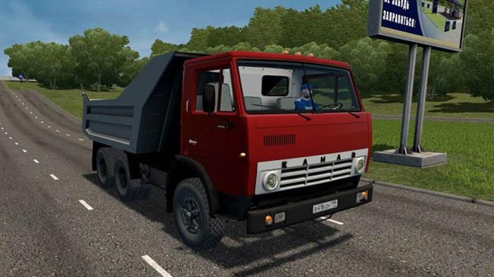 City Car Driving 1.5.9 - KamAZ 5511 Truck