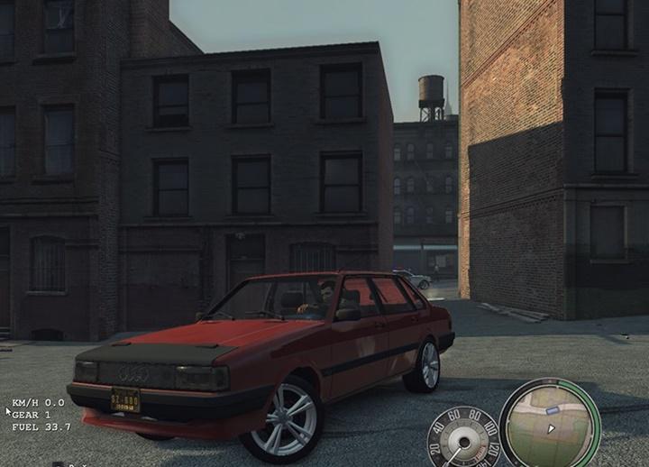 Mafia 2 – Audi 80 B2