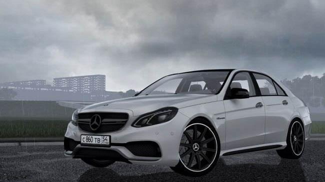 City Car Driving 1.5.9 - Mercedes-Benz E63S AMG W212