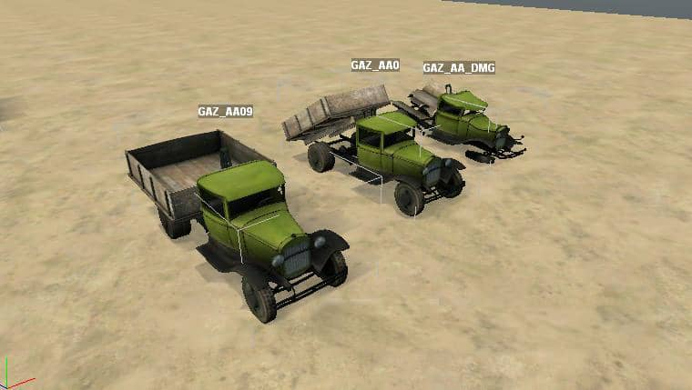 "Spintires - Objects for Spintires Editor ""Gaz-AA Pack"" V1"