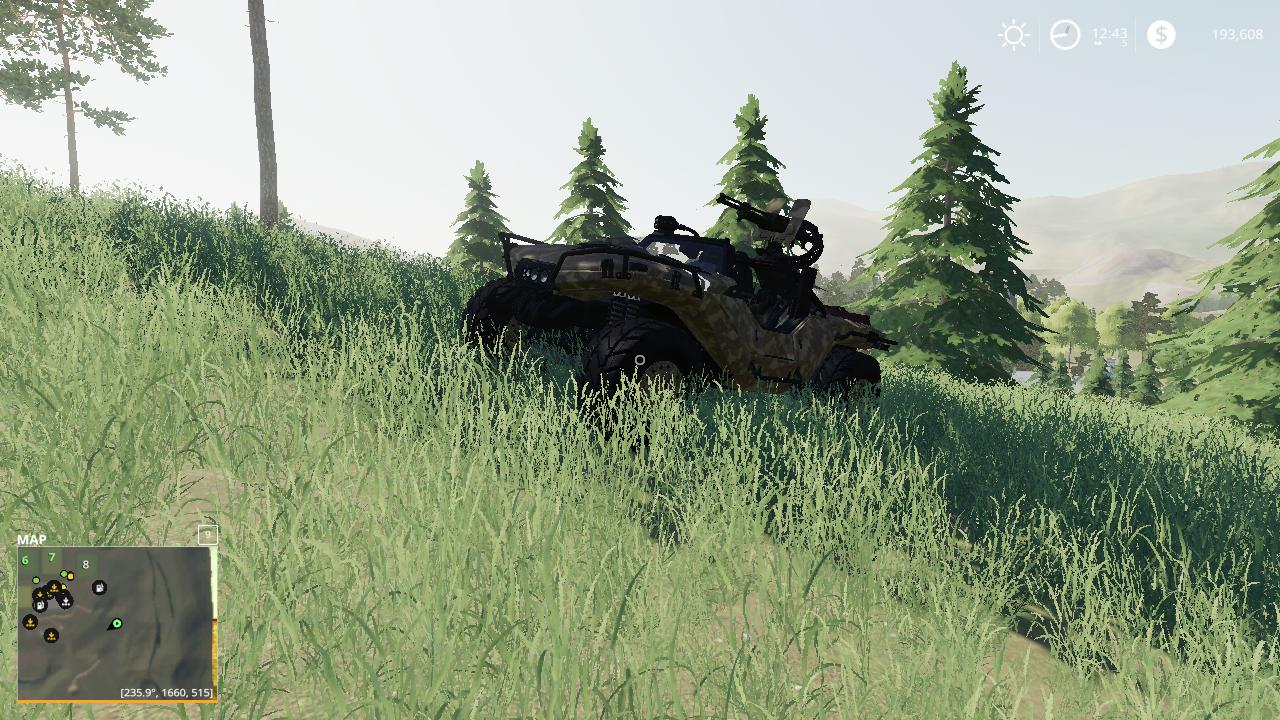 FS19 - Warthog Fixed Textures V1.0.0.1