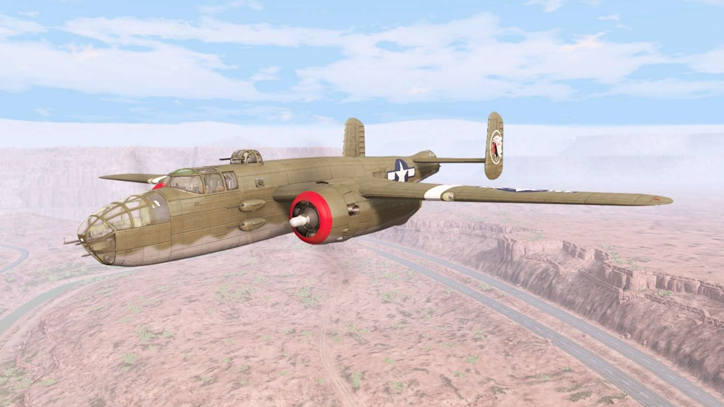 BeamNG - North American B-25 Mitchell V6.0