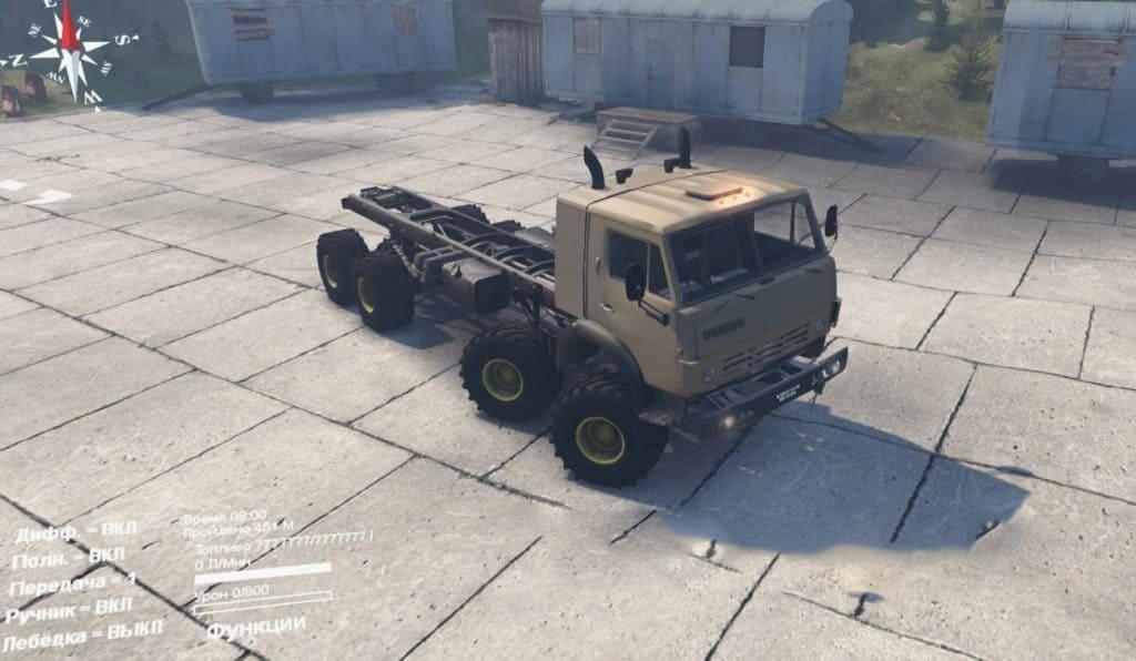 Spintires - Kamaz 63501-996 Mustang Truck V1.0