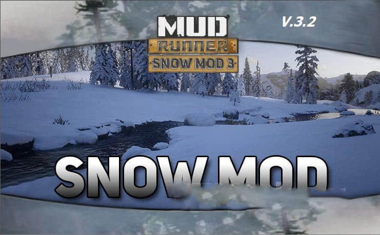 Spintires:Mudrunner - Snow Mod V3.2