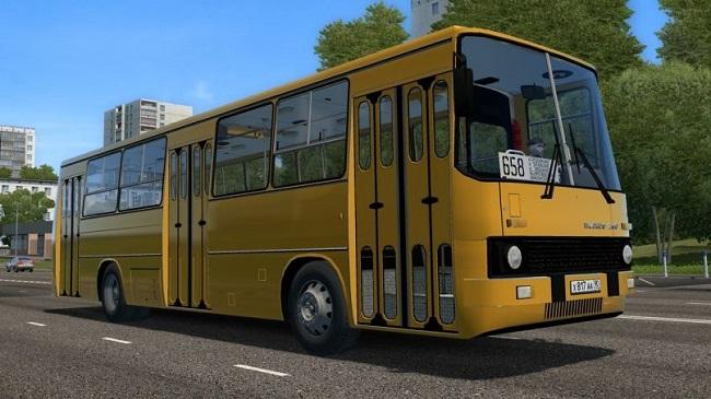 City Car Driving 1.5.9 - Ikarus 260 Bus Mod