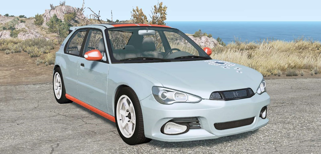 BeamNG - Hirochi Sunburst Hatchback V1.15