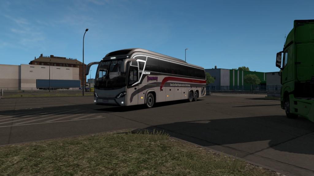 ETS2 - Mascarello Roma 8 Official Skin Journey V2.0 (1.36.x)