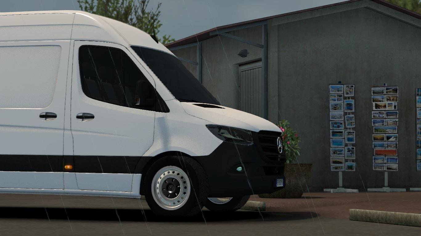 ETS2 - Mercedes Benz Sprinter 2019 V1R10 (1.35.X)