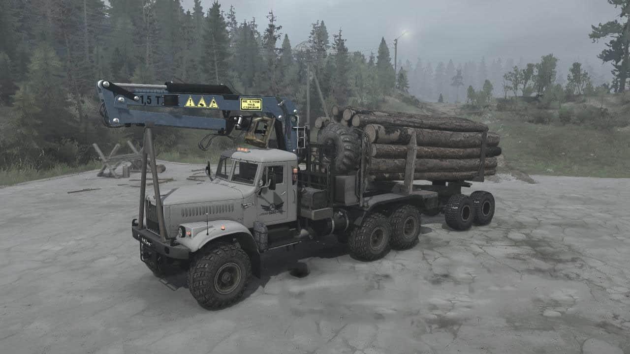 Spintires:Mudrunner - KrAZ-255B Truck V11.07.21