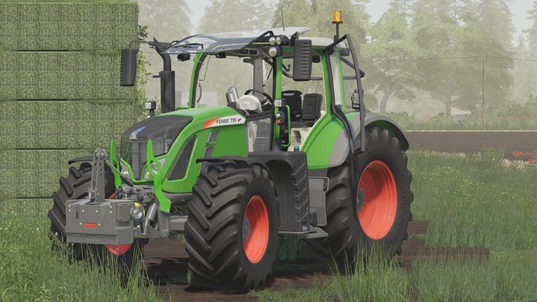 FS19 - Fendt 700 Vario S4 Serie V2.0