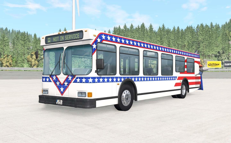 BeamNG - Wentward DT35SE Bus Mod V2.0