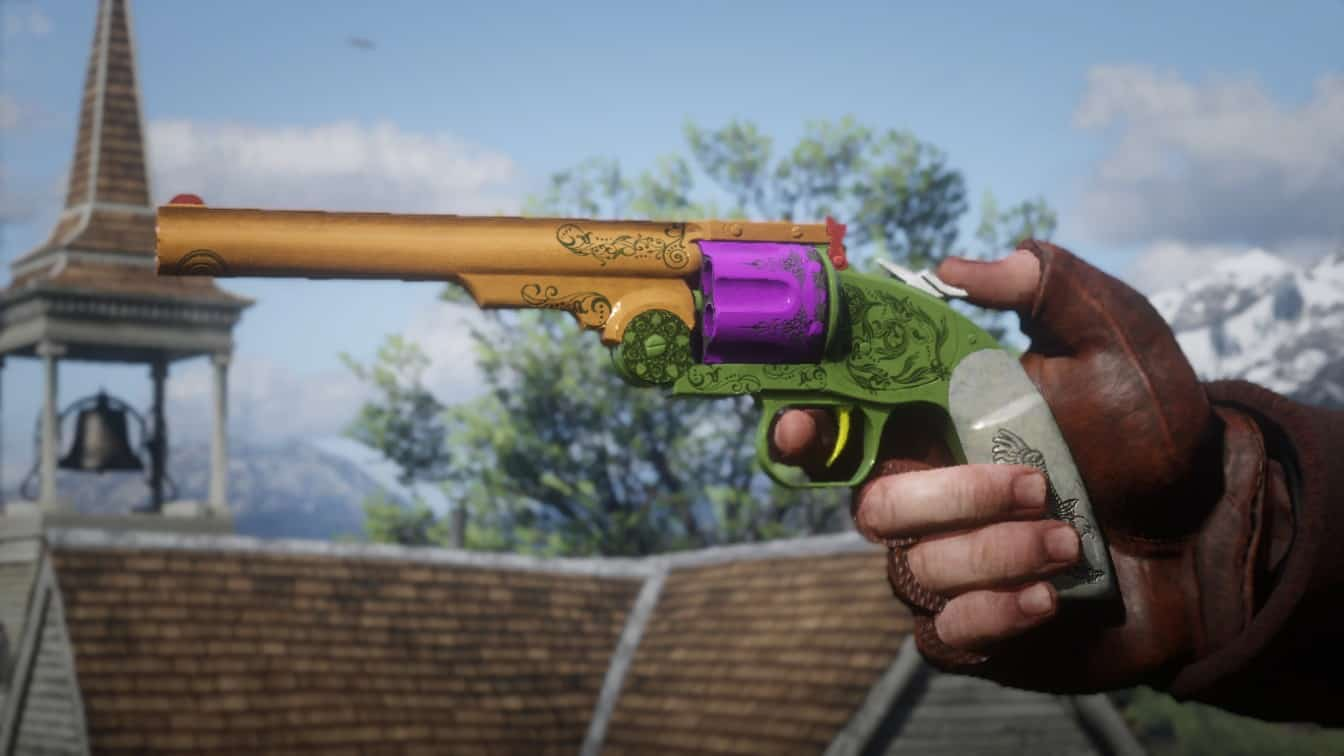 RDR2 - Colorful Guns
