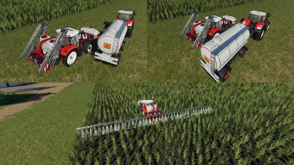 FS19 - Kuhn Interactive Sprayers V1.0
