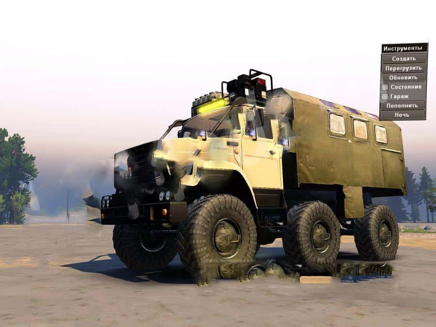SpinTires:Mudrunner - ZIL-4972 Truck Mod