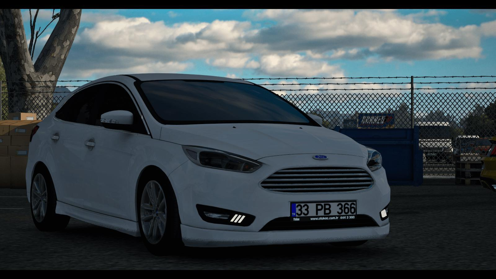 ETS2 - Ford Focus MK3.5 V1.1 + Interior (1.36.x)