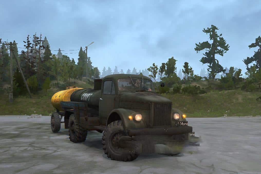 Spintires:Mudrunner - Gas 63 Truck Final