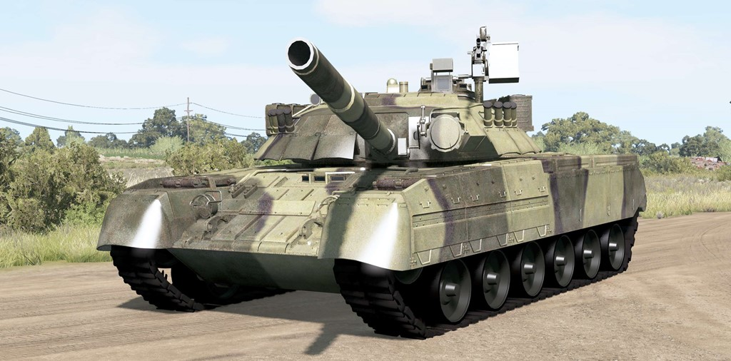 BeamNG - T-80UD Tank
