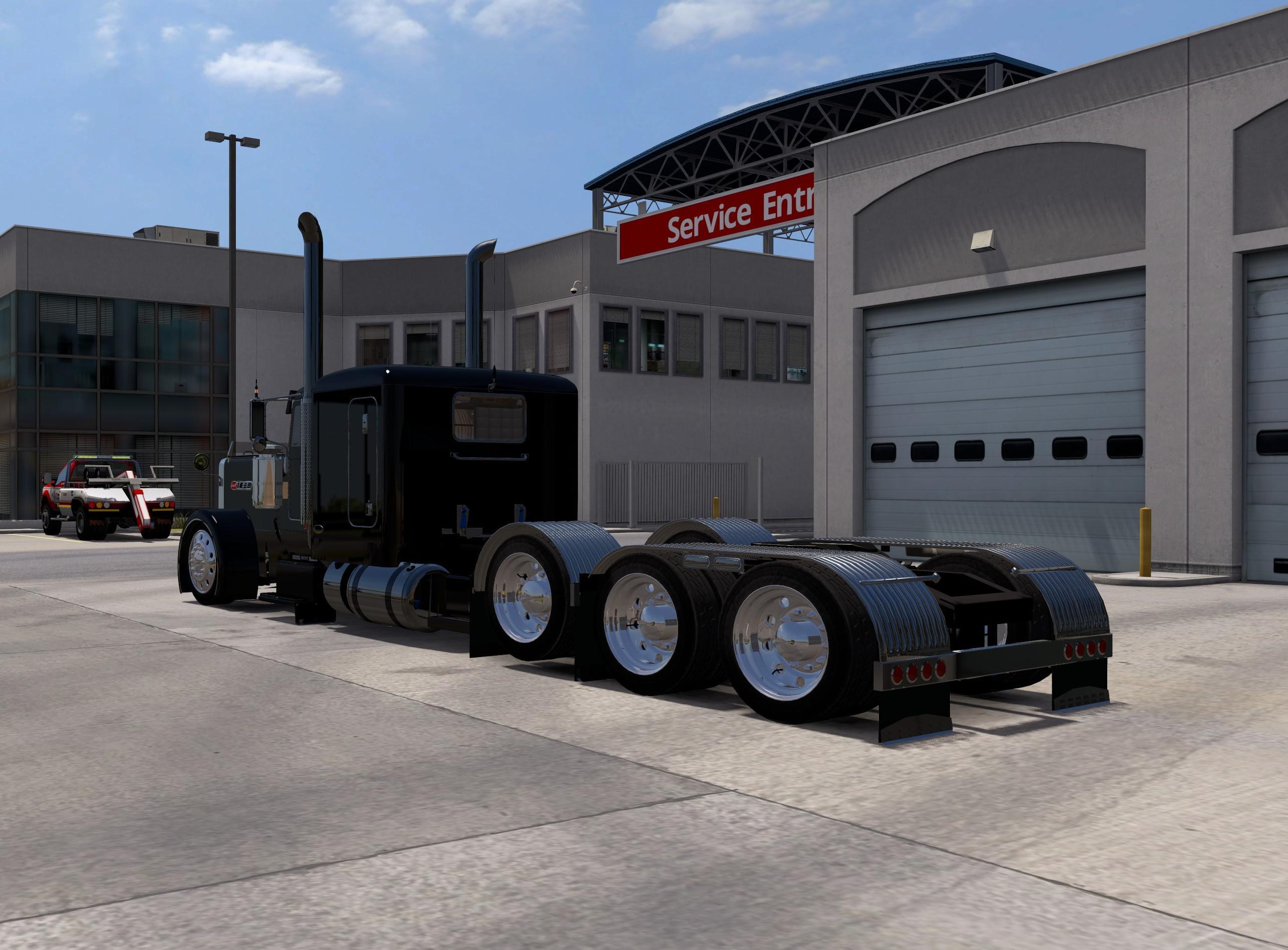 ATS - Peterbilt 389 Longhood Truck (1.36.x)