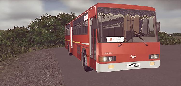 Omsi 2 – Daewoo BS106 L2 Bus