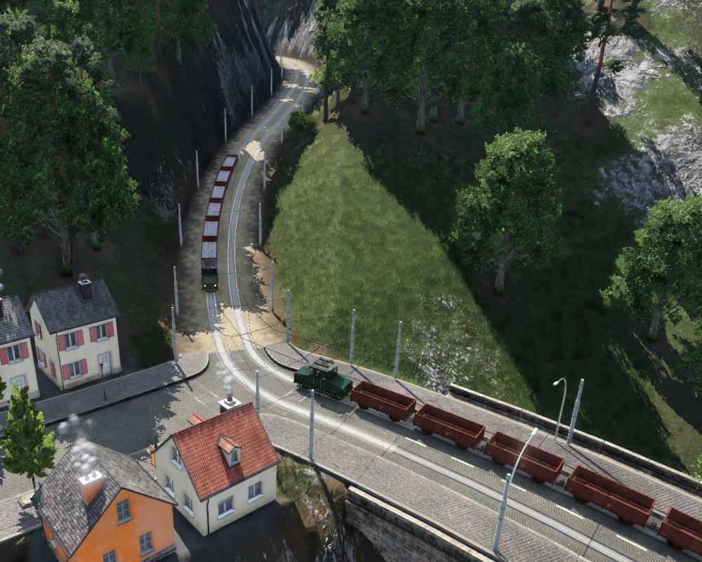 Transport Fever 2 - Industrial Railway (Cargotrams)