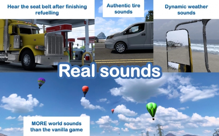 ETS2 - Sound Fixes Pack V21.38 (1.40.x)