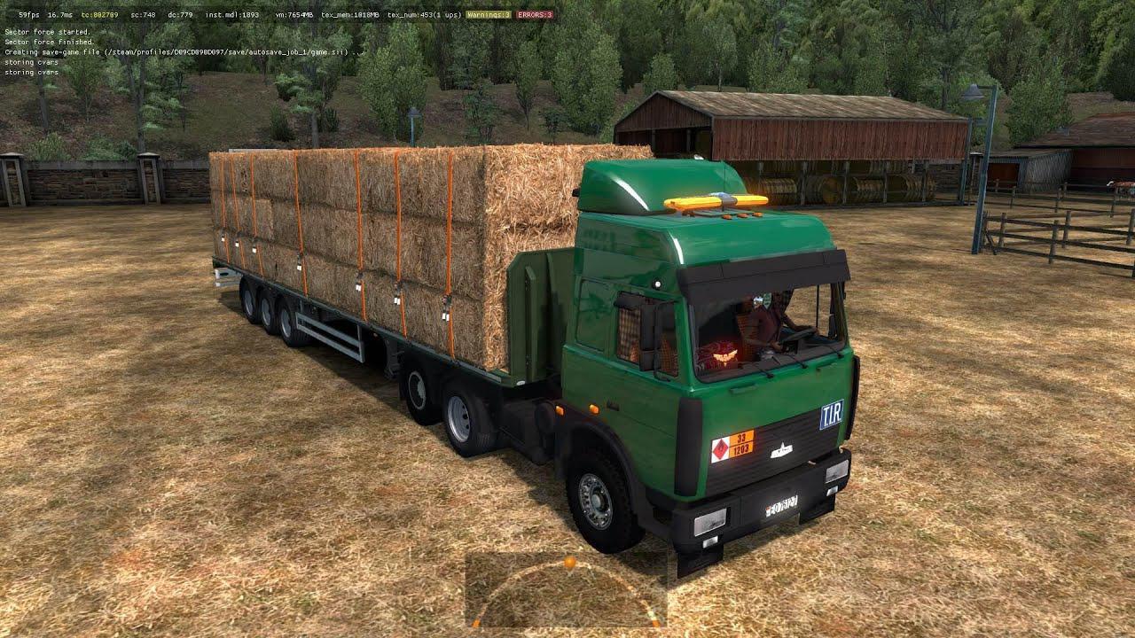 ETS2 - Maz 5432-6422 Truck V6.0 (1.36.x)
