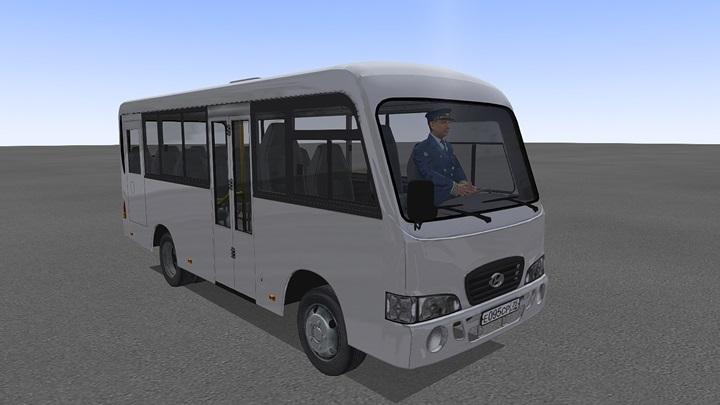 Omsi 2 – Hyundai County Bus V1.0