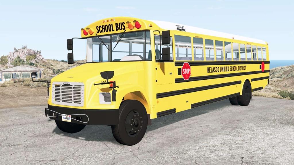 BeamNG - Freightliner FS-65 School Bus Mod