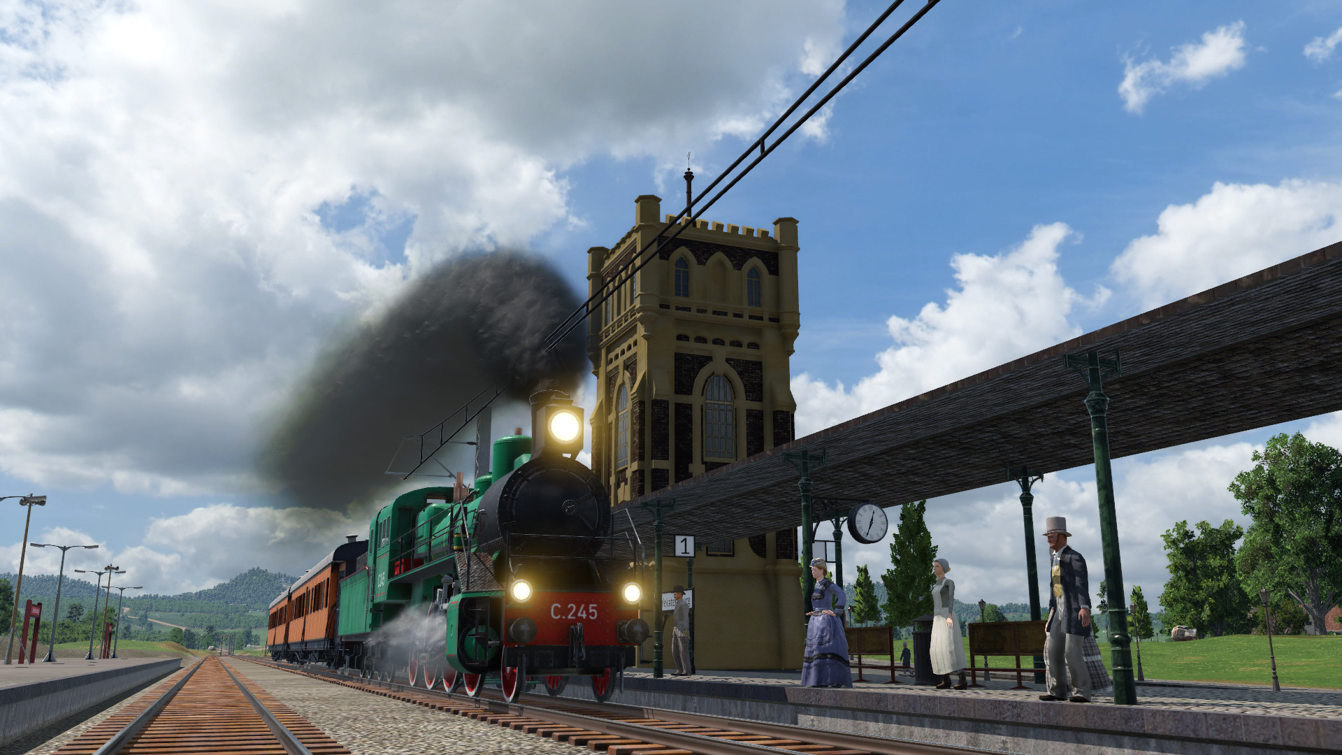 Transport Fever 2 - Water Tower