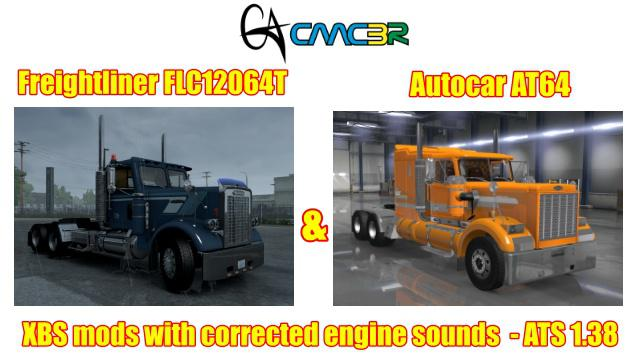 ATS - XBS Trucks Engines Sounds Repair (1.38.x)