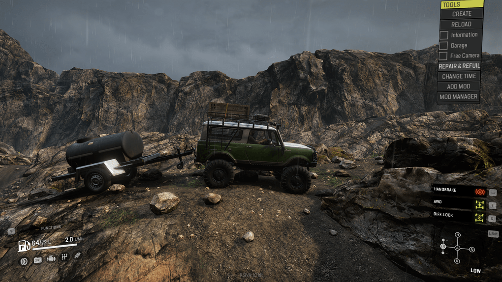SnowRunner - Tuned Scout Trailers V1
