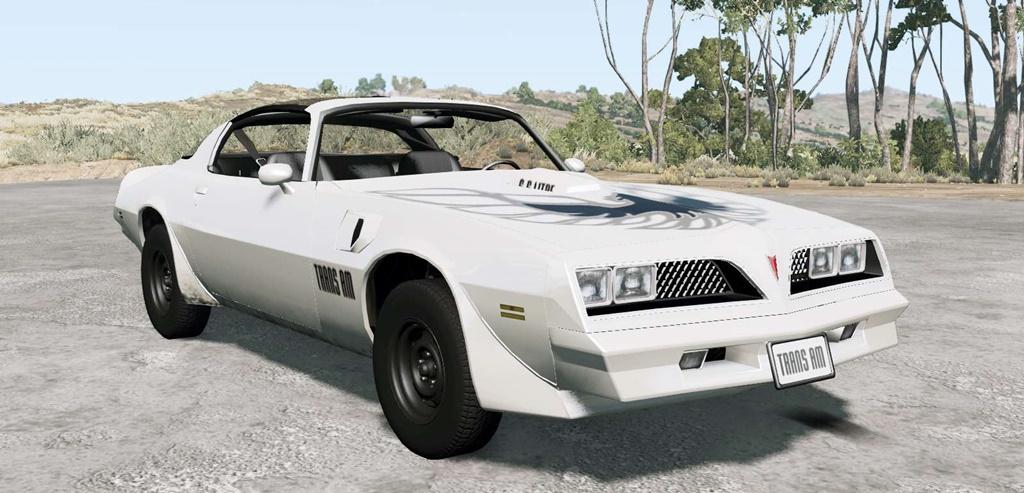 BeamNG - Pontiac Firebird Trans Am 1977 Car Mod