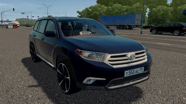 City Car Driving 1.5.9 - Toyota Highlander Hybrid