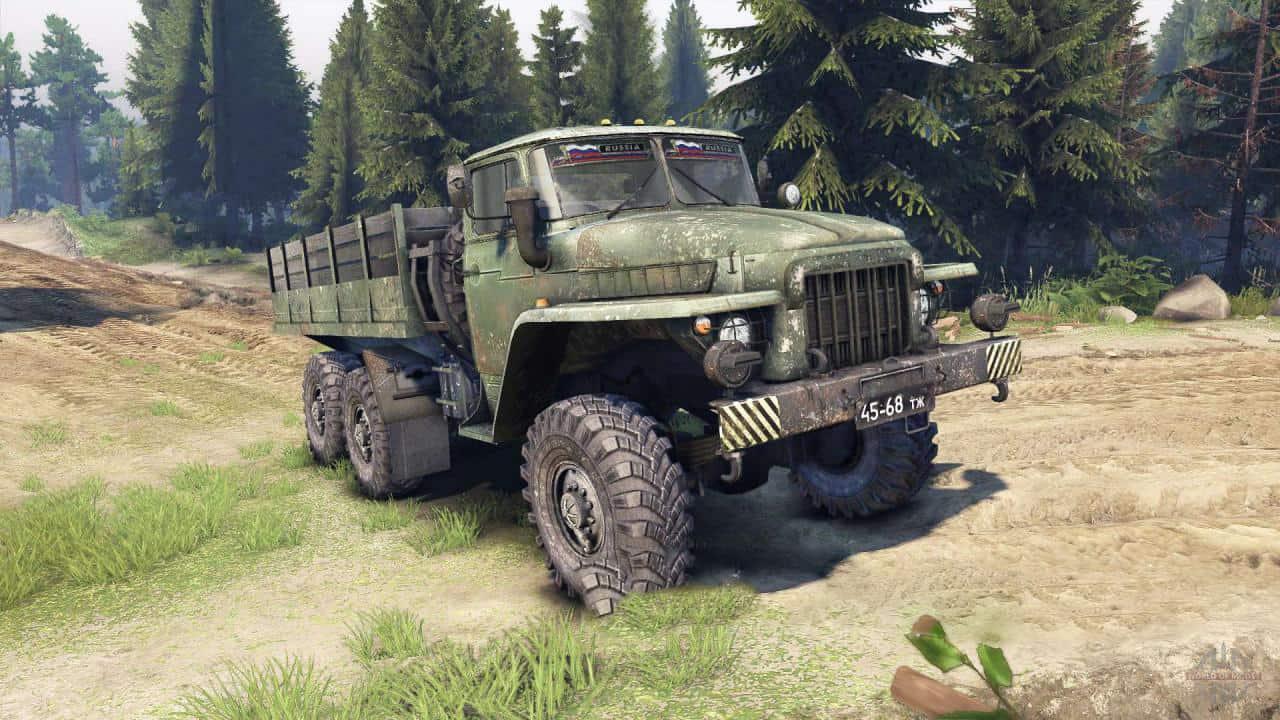 Spintires - Ural-375 Sound Mod V1
