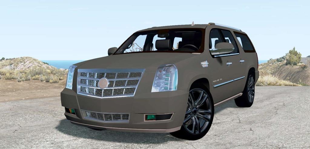 BeamNG - Cadillac Escalade ESV Platinum Edition 2009 Car Mod
