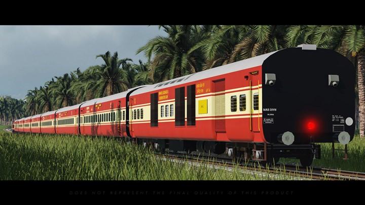 Transport Fever 2 - Indian Railways ICF Coaches