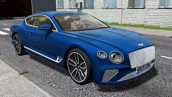 City Car Driving 1.5.9 - Bentley Continental GT 2018