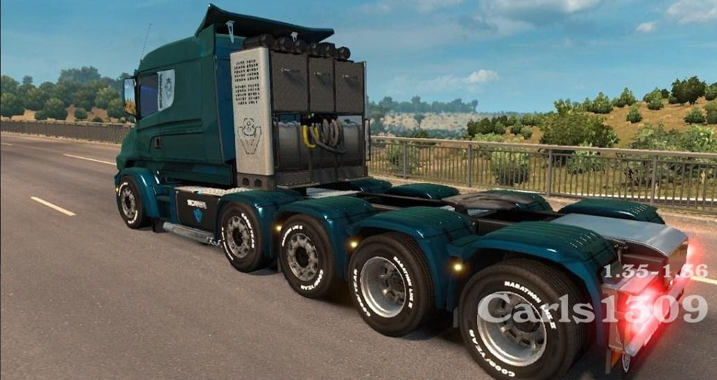 ETS2 - Scania Illegal T Truck V2.0 (1.36.x)