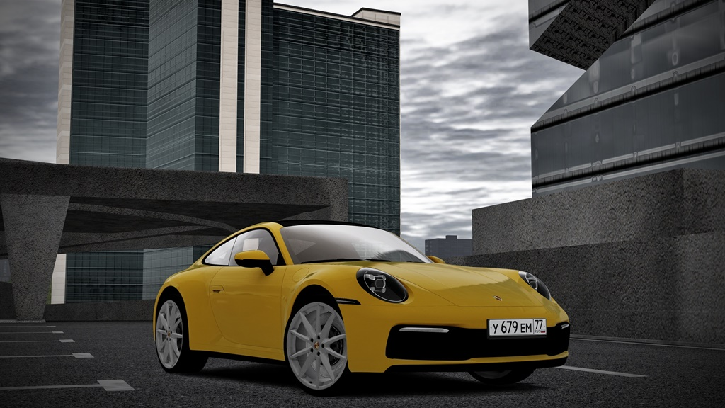 City Car Driving 1.5.8 - 2019 Porsche 911 Carrera S (992)