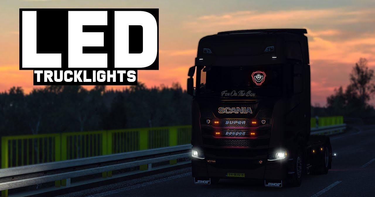 ETS2 - Led Trucklight V6.0 (1.36.x)