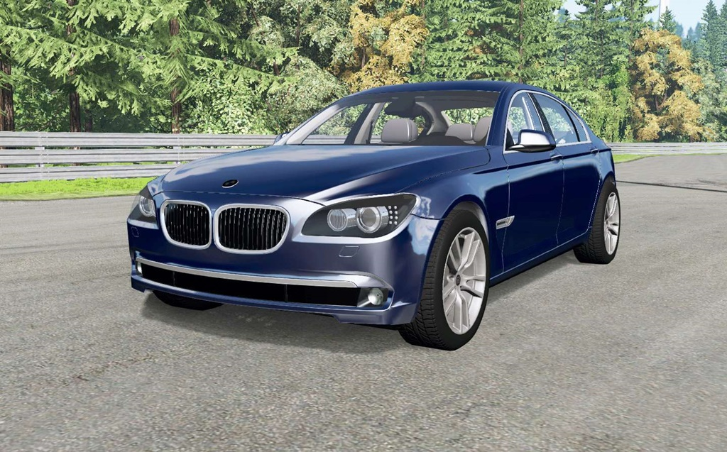BeamNG - Bmw 750i (F01) 2008 Car Mod
