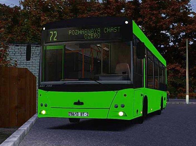 Omsi 2 – Maz-206.067 Bus