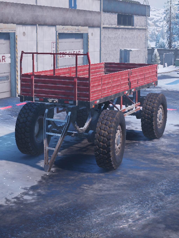 SnowRunner - Sidebar 2 4x4 Truck And Train Tutorial Trailer V1.0