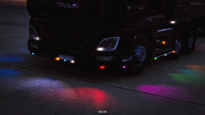 ETS2 - Boreman Led Marker Lights V1.8 (1.40.x)