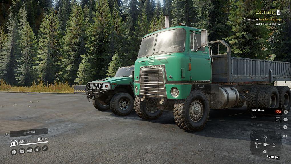 SnowRunner - International Transtar 4070X Truck V1.1