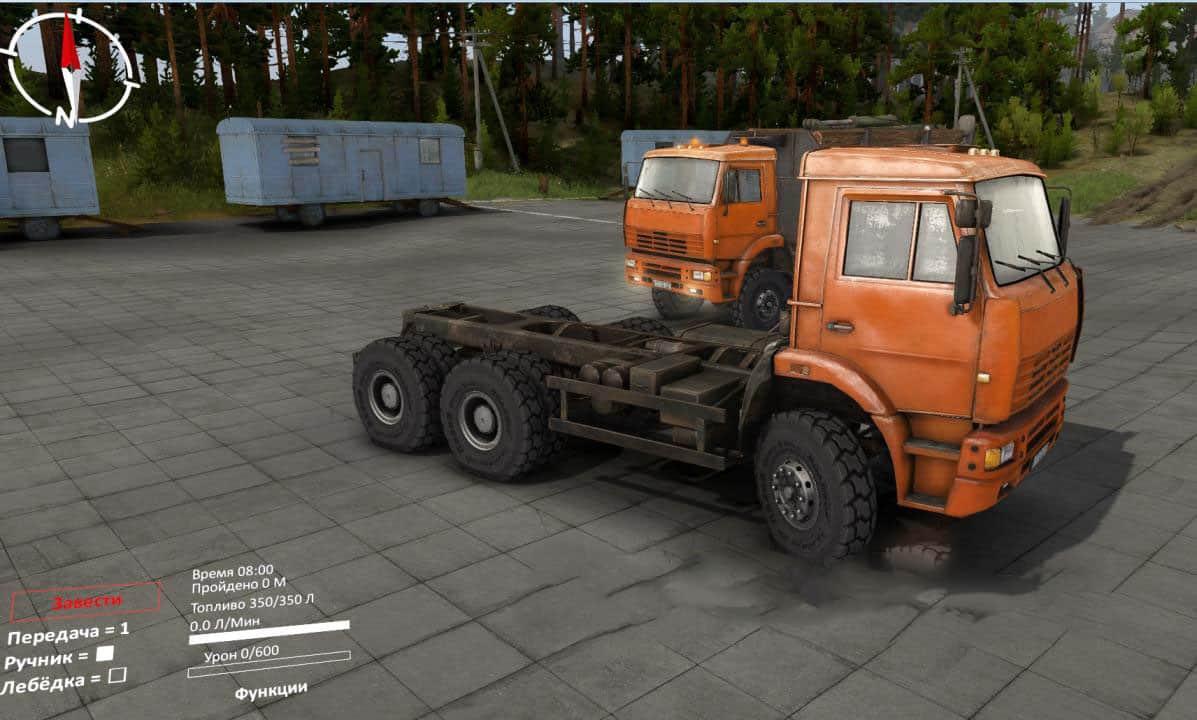 Spintires - Road Tires for Kamaz and Kraz V1.0